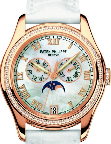 Ladies' Patek Philippe Perpetual Calendar Replica Watches