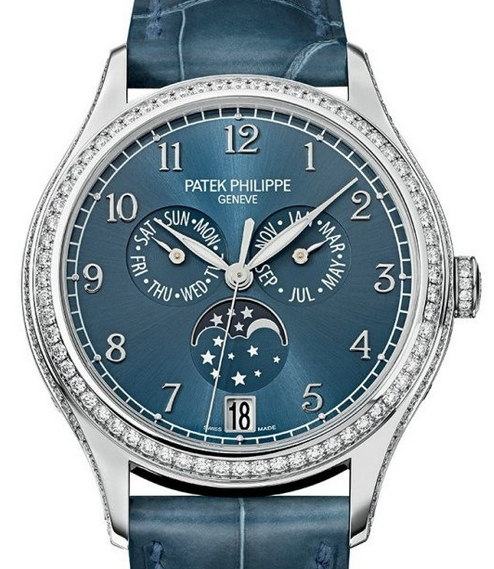Ladies' Patek Philippe Perpetual Calendar Copy Watches